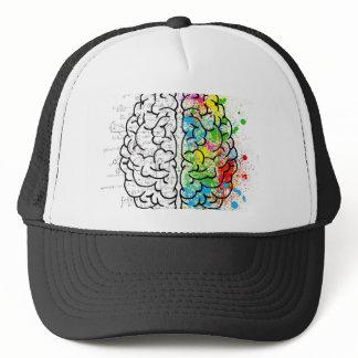 brain series trucker hat