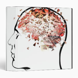 Brain Shattering Vinyl Binder
