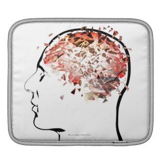 Brain Shattering iPad Sleeve