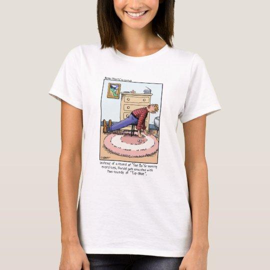 """Brain Shorts """"Tae Bo"""" by Jim Kraft T-Shirt"""