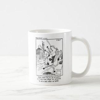 "Brain Shorts ""Udder fodder"" by Jim Kraft Coffee Mug"