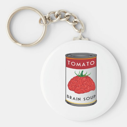 brain soup keychain