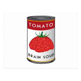 brain soup postcard