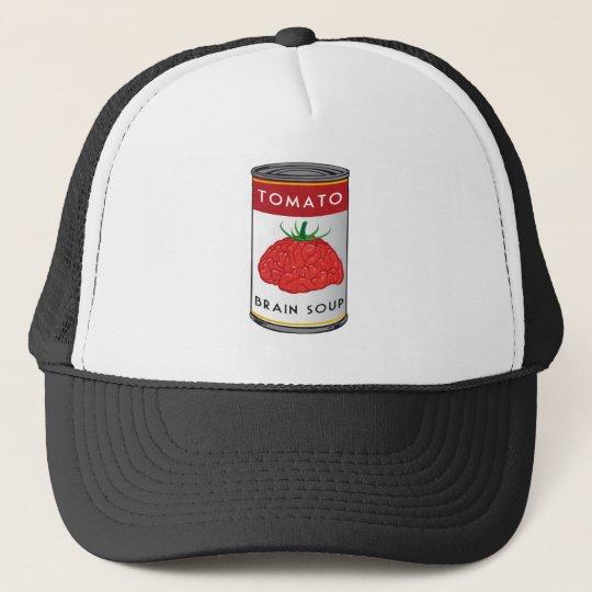 brain soup trucker hat