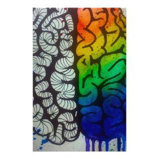 Brain Stationery