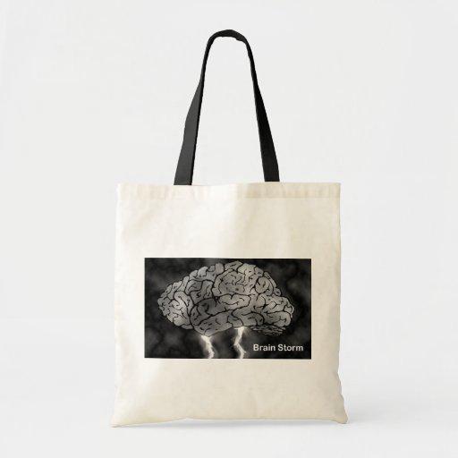Brain Storm Canvas Bag