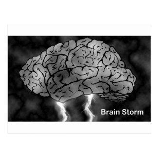 Brain Storm Postcard