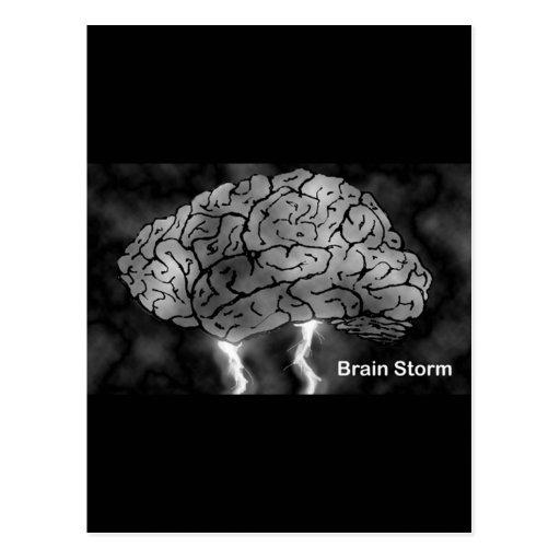 Brain Storm Postcards