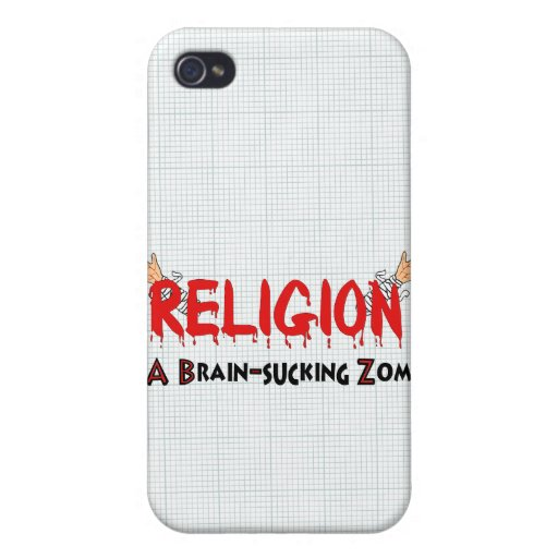 Brain-Sucking Zombie Case For iPhone 4