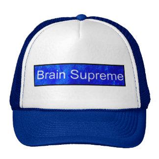 BRAIN SUPREME CAP TRUCKER HAT