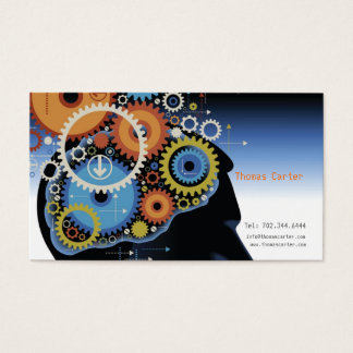 Brain Surgeon Doctor Private Clinic Head Human Business Card