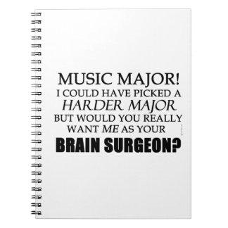 Brain Surgeon Spiral Note Book