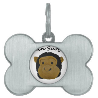 Brain Surgeon Pet ID Tag
