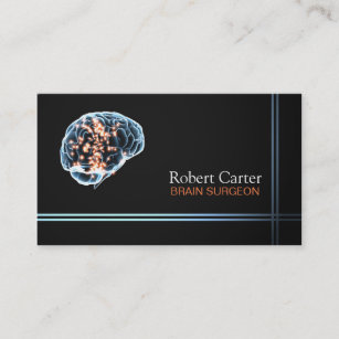 Clinical psychologist business cards zazzle brain surgeon psychologist doctor clinic business card colourmoves