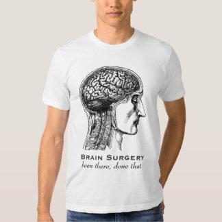 Brain Surgery Neurologists Antique Medical Drawing T-shirt