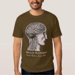Brain Surgery Survivor Antique Medical Engraving T-Shirt