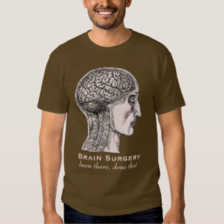 Brain Surgery Survivor Antique Medical Engraving T Shirt