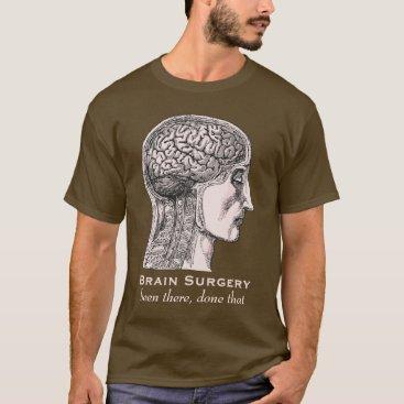 antiqueimages Brain Surgery Survivor Antique Medical Engraving T-Shirt