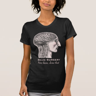 Brain Surgery Survivor Antique Medical Engraving T-shirts