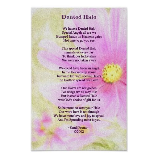 Brain Surgery Survivor Poem Poster Zazzle Com