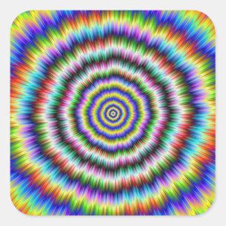 Brain Teaser Square Sticker