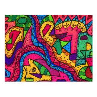 Brain Terrain Postcard