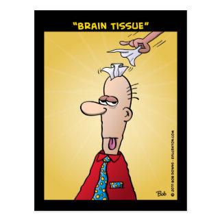 """Brain Tissue"" Postcard"
