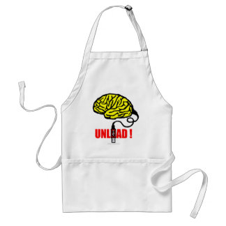 Brain to unload adult apron