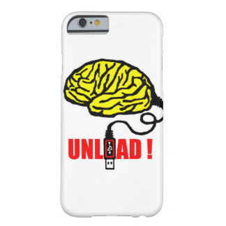 Brain to unload barely there iPhone 6 case