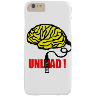 Brain to unload barely there iPhone 6 plus case