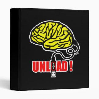Brain to unload binder
