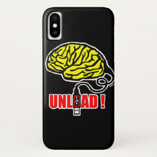 Brain to unload iPhone x case