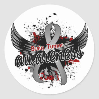 Brain Tumor Awareness 16 Classic Round Sticker