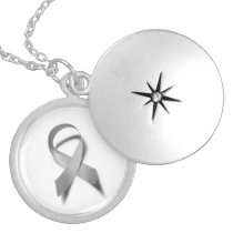 BRAIN TUMOR AWARENESS LOCKET