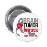 Brain Tumor Awareness Month 2 Inch Round Button