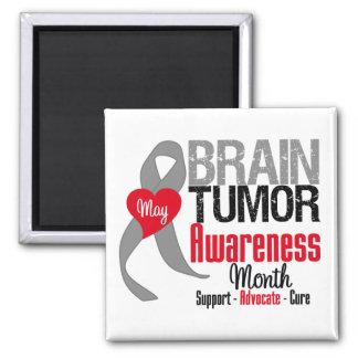 Brain Tumor Awareness Month Magnets