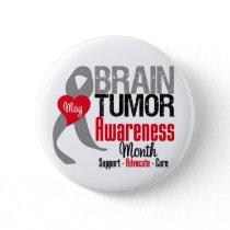 Brain Tumor Awareness Month Pinback Button