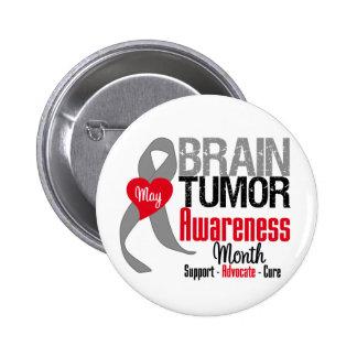 Brain Tumor Awareness Month Pins