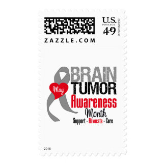 Brain Tumor Awareness Month Postage Stamp
