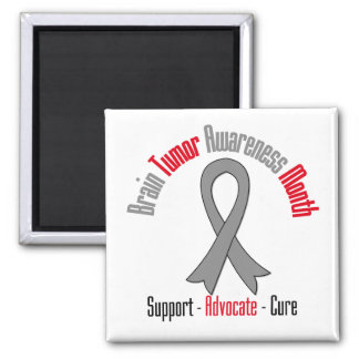 Brain Tumor Awareness Month Ribbon Refrigerator Magnet