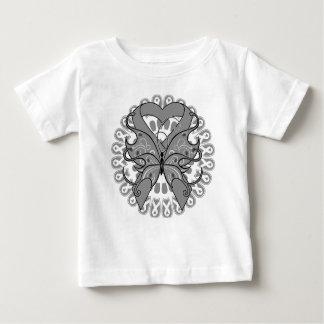 Brain Tumor Butterfly Circle of Ribbons T-shirt