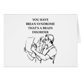 brain tumor card