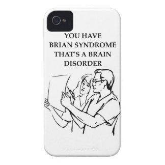 brain tumor iPhone 4 cover