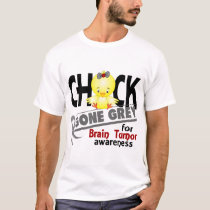 Brain Tumor Chick Gone Grey 2 T-Shirt