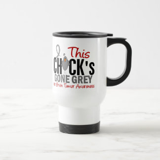 BRAIN TUMOR Chick Gone Grey Travel Mug