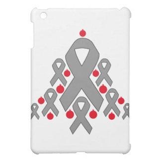 Brain Tumor Christmas Ribbon Tree Cover For The iPad Mini