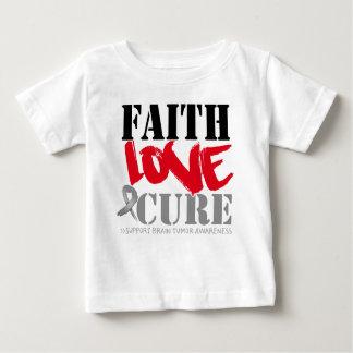 Brain Tumor Faith Love Cure Shirts
