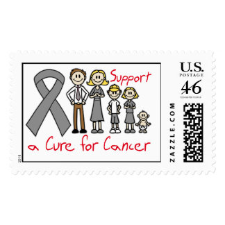 Brain Tumor Family Support A Cure Stamps