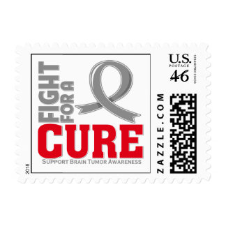 Brain Tumor Fight For A Cure Postage Stamp