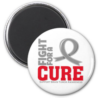 Brain Tumor Fight For A Cure Refrigerator Magnets